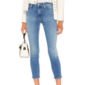 MOTHER Denim The Looker Crop in Rancho Diablo 27
